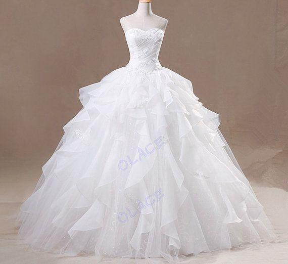 Ball Gown Wedding Dresses For Bride : Big wedding dress ...