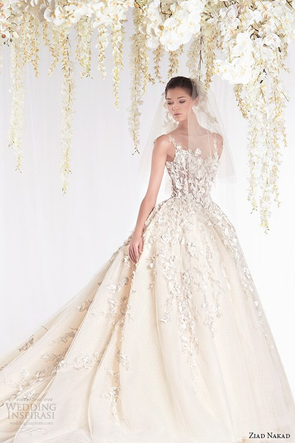 Ball Gown Wedding Dresses For Bride : Ziad Nakad - WeddingTrend ...