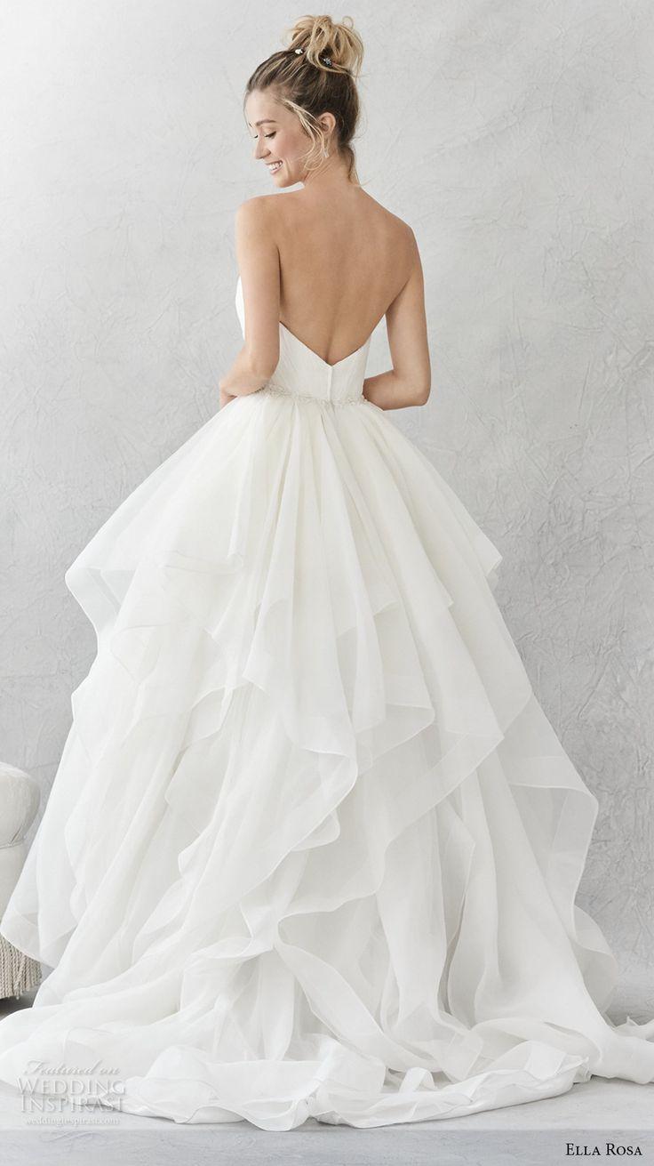 Ball Gown Wedding Dresses For Bride : ella rosa spring 2017 bridal ...