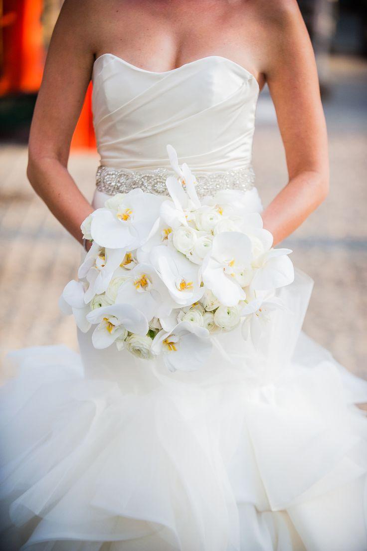 Bouquet Sposa New York.Wedding Bouquets Inspiration White Orchid Bouquet Www