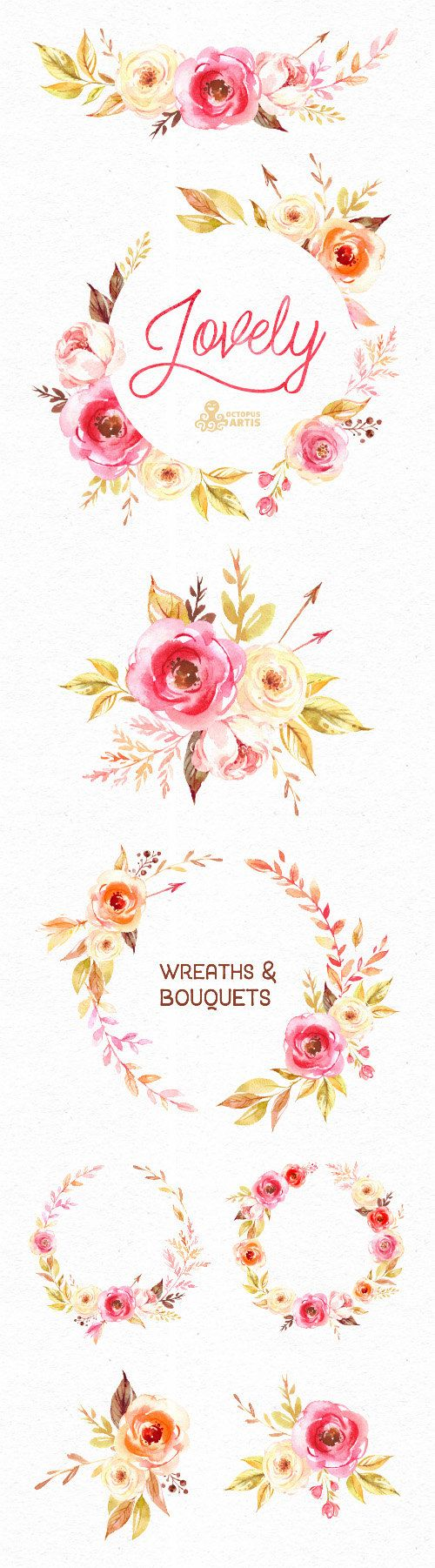 Wedding Quotes Belles Fleurs Couronnes Et Bouquets Clipart Aquarelle Weddingtrend Home Of Bridal Trends The Hottest New Wedding Trends Straight From The Experts