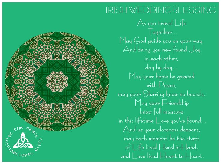 Wedding Quotes Irish Wedding Blessing As You Travel Life